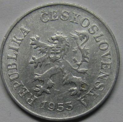 5 Heller 1953 1955 Tschechoslowakei Münzen Wert Ucoinnet