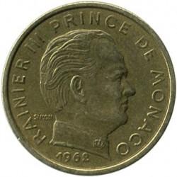 Münze > 10Centimes, 1962-1995 - Monaco   - obverse