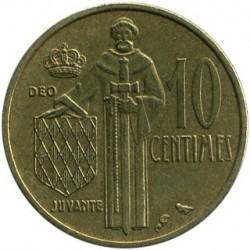 Münze > 10Centimes, 1962-1995 - Monaco   - reverse