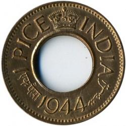 Münze > 1Paisa, 1943-1947 - Britisch-Indien  - obverse