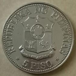 Moneta > 5pesos, 1979-1982 - Filipiny  - obverse