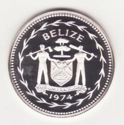 Münze > 1Dollar, 1974-1981 - Belize  - reverse
