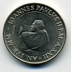 Mynt > 50lire, 2000 - Vatikanstaten  - obverse