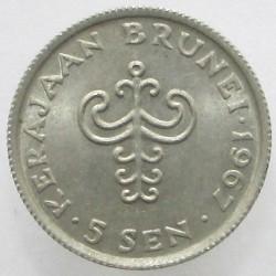 Moneta > 5senai, 1967 - Brunėjus  - reverse