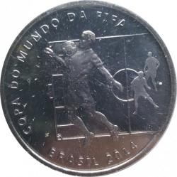 Moneta > 2reale, 2014 - Brazylia  (Mundial 2014 - Przyjęcie piłki na klatkę piersiową) - obverse