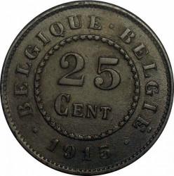 Munt > 25centimes, 1915-1918 - Belgie  - reverse
