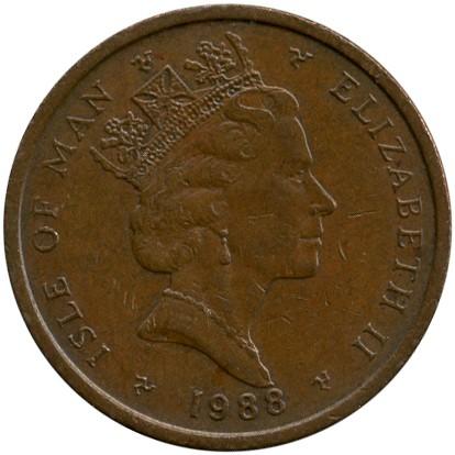 2 Pence 1988 1995 Isle Of Man Münzen Wert Ucoinnet