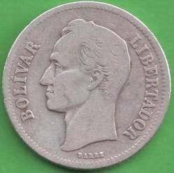 Moneta > 2bolivarai, 1879-1936 - Venesuela  - obverse