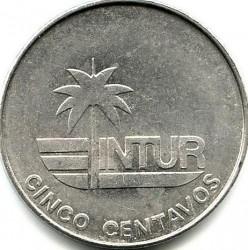 Moneta > 5centavos, 1981 - Kuba  (Denomination w/o number 5) - reverse