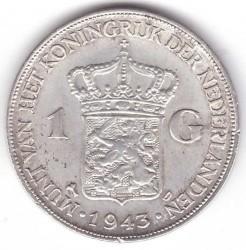 Monēta > 1guldenis, 1943-1945 - Nīderlande  - reverse