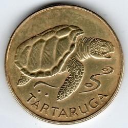 Münze > 1Escudo, 1994 - Kap Verde   (Schildkröte) - reverse