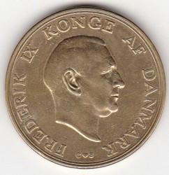 Moneda > 2kroner, 1947-1959 - Dinamarca  - obverse