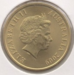 Moneta > 1dolar, 2009 - Australia  (Terytorium Północne) - obverse