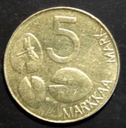 Moneda > 5marcos, 1999 - Finlandia  - reverse