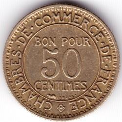 Moneta > 50centesimi, 1921-1929 - Francia  - reverse