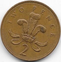 Moneta > 2pensai, 1998-1999 - Jungtinė Karalystė  - reverse