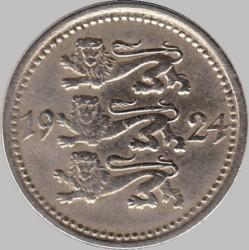Munt > 5marka, 1924 - Estonië  - obverse