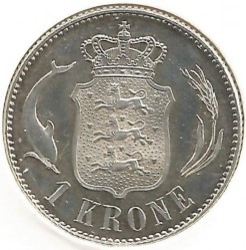 Coin > 1krone, 1915-1916 - Denmark  - obverse