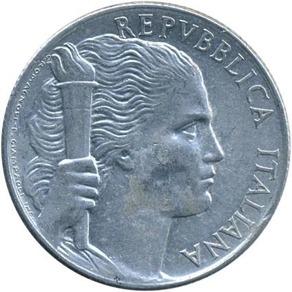 0feb762d19 5 lire 1946-1950, Italy - Coin value - uCoin.net