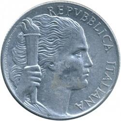 سکه > 5لیره, 1946-1950 - ایتالیا  - obverse